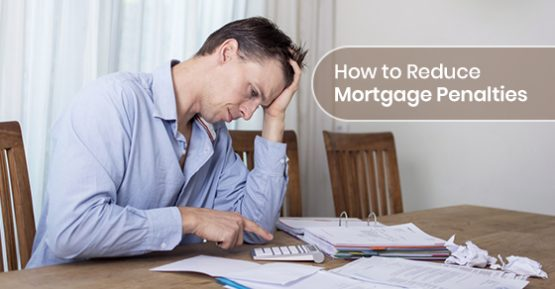 A person managing the mortgage stress