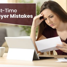 Mistakes done by first-time home-buyers
